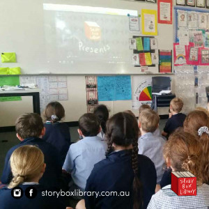 Classroom Life is better with Story Box Library!